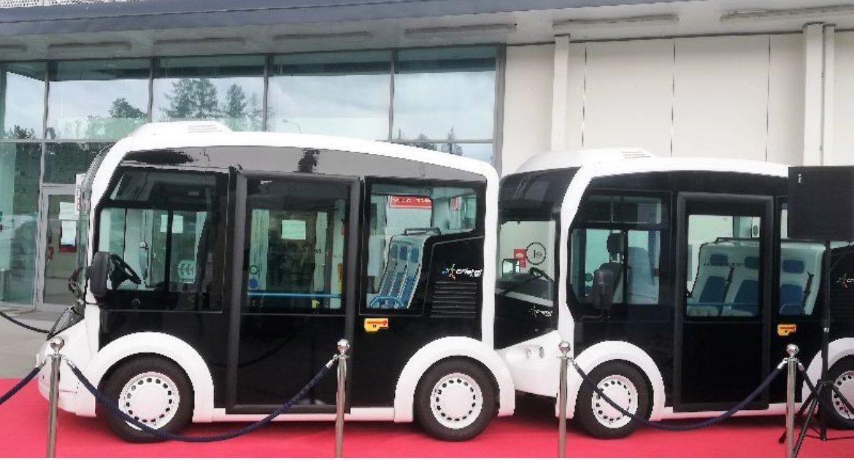 Moto, elektryczny mikrobus Francji trafi kiedyś Białegostoku stałe - zdjęcie, fotografia
