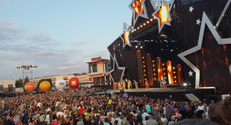 Koncerty, Marszałek prawie sparaliżował miasto - zdjęcie, fotografia