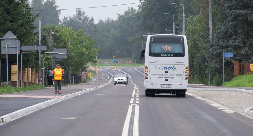 Moto, Można jechać nową drogą Zabłudowa stronę Białowieży - zdjęcie, fotografia