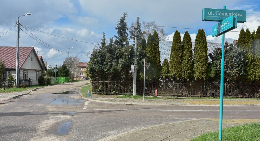 Wiadomości, Ulica Starosielce przebudowy - zdjęcie, fotografia