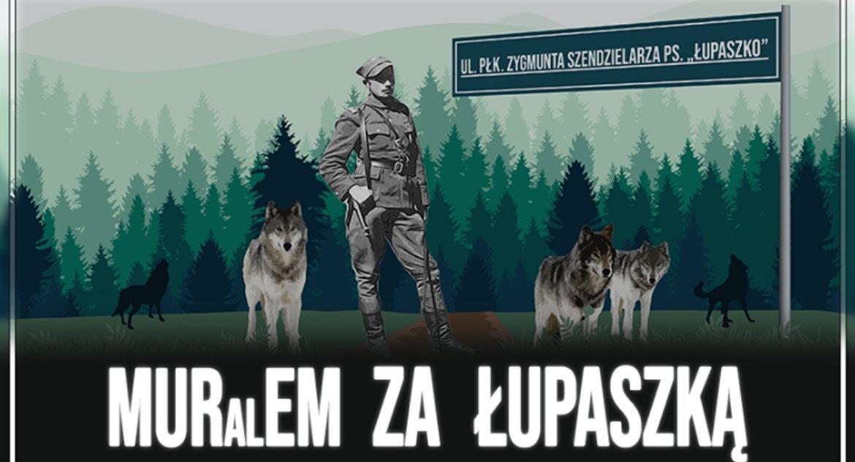 Wiadomości, Młodzież Wszechpolska uruchomiła zbiórkę mural Zygmunta Szendzielarza - zdjęcie, fotografia