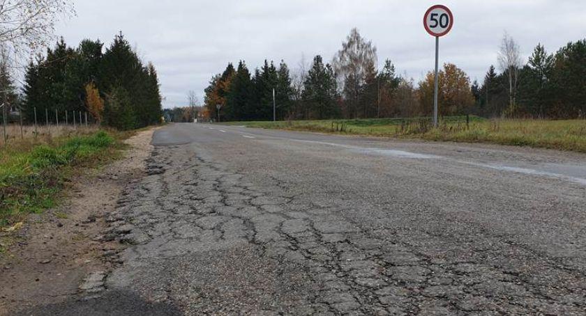 Wiadomości, Mieszkańcy doczekają nowej drogi pomiędzy Niewodnicą Nargilewską Kudryczami - zdjęcie, fotografia