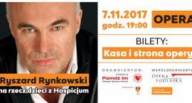 Ryszard Rynkowski zaśpiewa na koncercie charytatywnym w Białymstoku