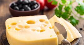 Żółty ser bardzo dobry zimą