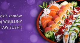 Futomaki obok karpia, czyli podaj sushi na Wigilię