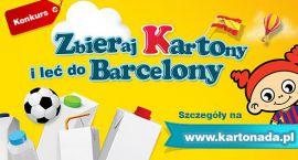 Zbierają kartony, by lecieć do Barcelony