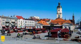 Wiosna zawitała na Rynek Kościuszki
