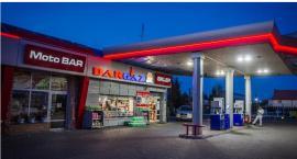 Chorten to nie tylko sklepy, to także stacje paliw