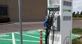 Suwalski Kaufland ma stację do ładowania elektrycznych samochodów