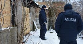 Policja cały czas monitoruje pustostany i pomaga bezdomnym