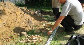 Ludzkie szczątki przy Areszcie Śledczym w Białymstoku