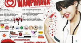 Akadera poleca: Trwa Wampiriada, studenci dzielą się krwią