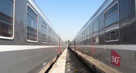 Oszuści pociągowi w akcji
