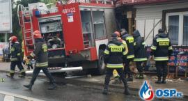 Dom, w który uderzył wóz straży pożarnej - do generalnego remontu lub wyburzenia