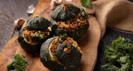 Rodzinie będą smakowały jesienią patisony faszerowane jarmużem i kaszą gryczaną