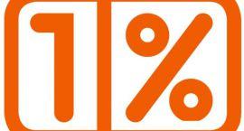 1% coraz większy
