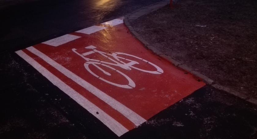 Ulice, najkrótsza ścieżka rowerowa świecie - zdjęcie, fotografia
