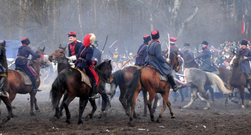 Imprezy plenerowe, rocznica Bitwy Olszynką [program uroczystości] - zdjęcie, fotografia