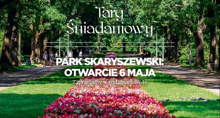 Handel i usługi, Rusza śniadaniowy Parku Skaryszewskim - zdjęcie, fotografia