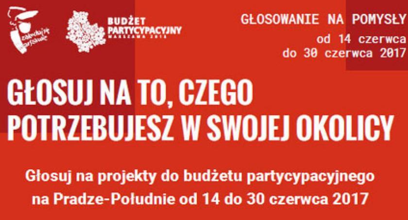 Budżet Partycypacyjny, Budżet partycypacyjny Pradze Południe głosowanie projekty - zdjęcie, fotografia