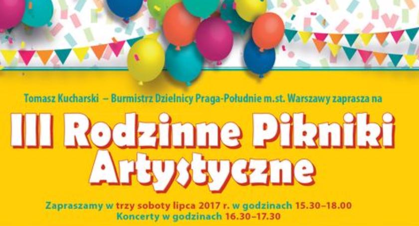 Imprezy plenerowe, Rodzinne Pikniki Artystyczne Pradze Południe - zdjęcie, fotografia
