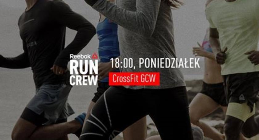 Bieganie, Reebok czyli grupa biegowa wykwalifikowaną kadrą Gocławiu - zdjęcie, fotografia
