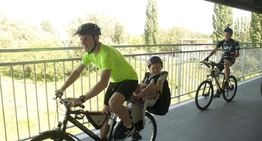Rower, Kładka Łazienkowskim będzie przedłużona! - zdjęcie, fotografia