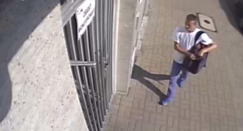 Bezpieczeństwo, kradzieże jeden sprawca Rozpoznajecie mężczyznę zdjęciach - zdjęcie, fotografia