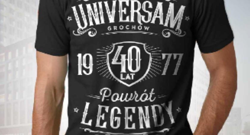 Handel i usługi, Universam Grochów powrót legendy okolicznościowy shirt - zdjęcie, fotografia