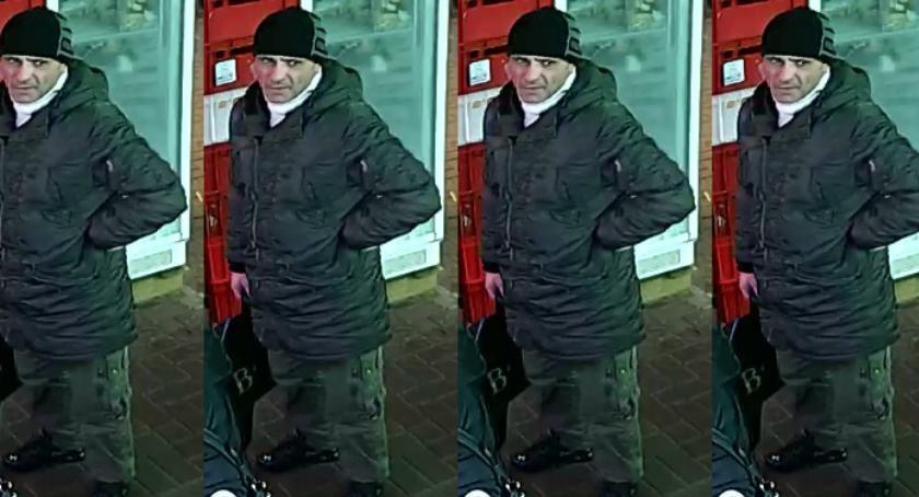 Bezpieczeństwo, Poznajecie mężczyznę Dajcie znać policji Funkcjonariusze proszą pomoc - zdjęcie, fotografia