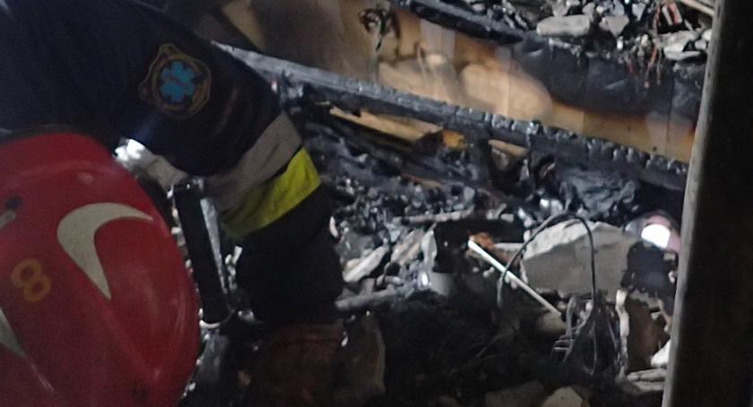 Bezpieczeństwo, Pożar Abrahama Straż publikuje zdjęcia - zdjęcie, fotografia