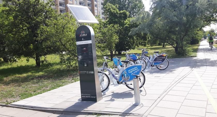 Rower, marca stacje Veturilo Pradze Południe - zdjęcie, fotografia