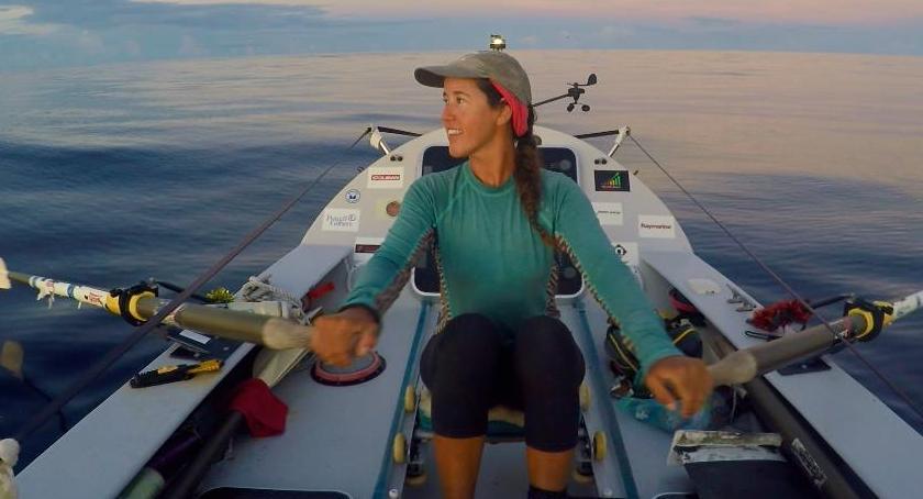 Zapowiedzi, wiosłach przez Pacyfik spotkanie niezwykłą Natalią Cohen - zdjęcie, fotografia
