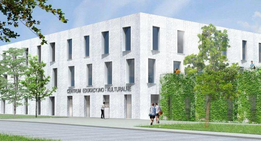 Inwestycje, Centrum Edukacyjno Kulturalne Gocławiu [WIZUALIZACJE] - zdjęcie, fotografia