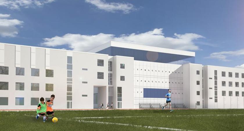 Inwestycje, Jeszcze ruszy budowa dwupoziomowej sportowej - zdjęcie, fotografia