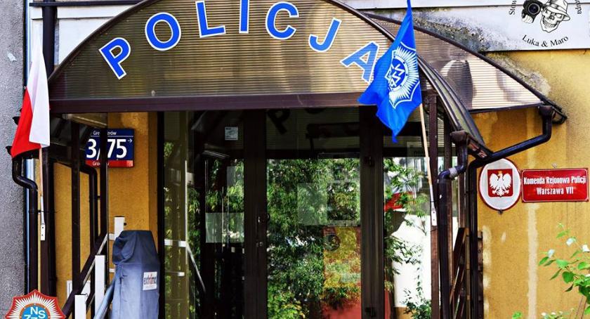, protest policji ogólnopolskiej akcji - zdjęcie, fotografia