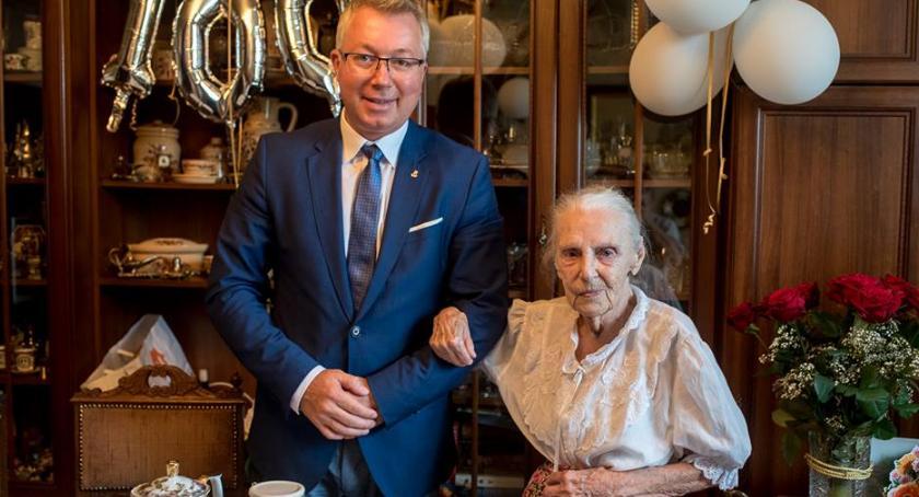 , Mieszkanka Grochowa obchodziła jubileusz Haliny! - zdjęcie, fotografia