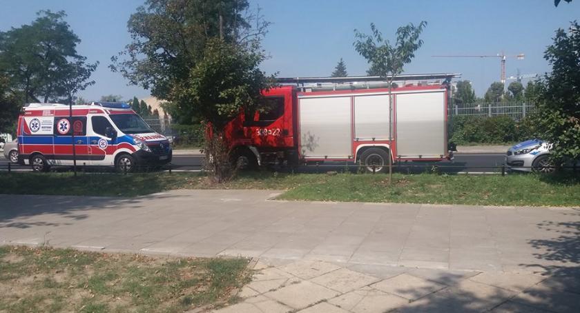 Bezpieczeństwo, Dwernickiego cała słupkach służby mogą dojechać Słupkoza - zdjęcie, fotografia