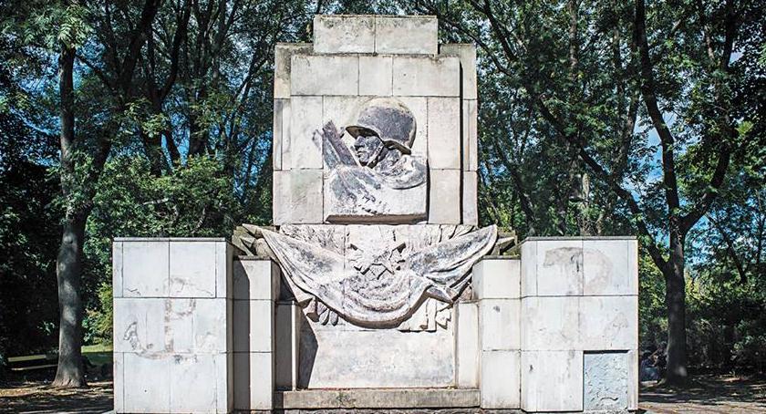 Historia, końca pomnik zniknąć Skaryszaka - zdjęcie, fotografia