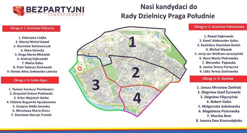 Wybory samorządowe, Jednak cztery okręgi wyborcze Pradze Południe Chaos wyborczy - zdjęcie, fotografia