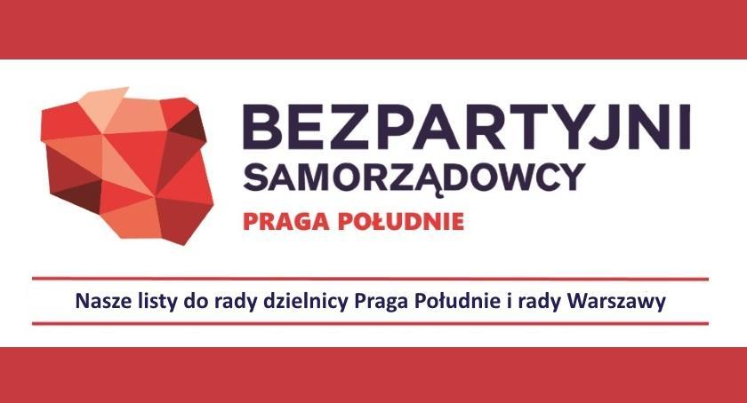 Wybory samorządowe, Kandydaci Bezpartyjnych Samorządowców dzielnicy Praga Południe - zdjęcie, fotografia