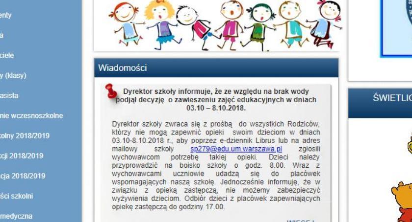 Szkolnictwo, Szkoła Gocławiu zamknięta odwołania - zdjęcie, fotografia