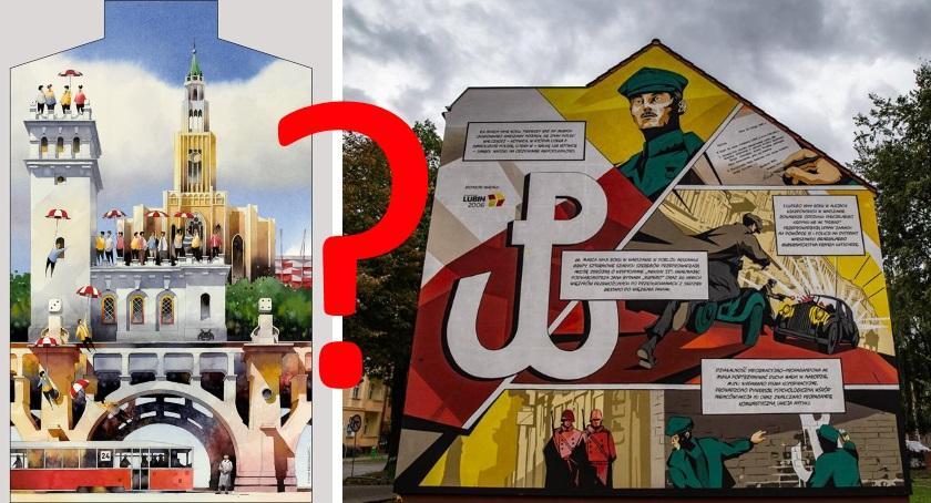 Historia, mural lecie Niepodległości Pradze Południe - zdjęcie, fotografia