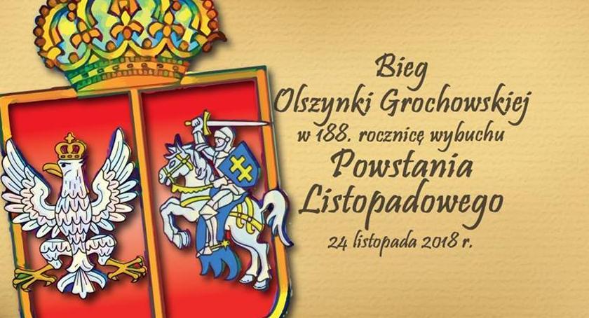 Bieganie, Olszynki Grochowskiej listopada - zdjęcie, fotografia