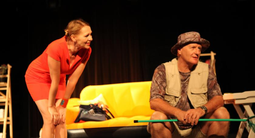 Teatr, Podwieczorek życia ponownie Promie Kultury - zdjęcie, fotografia