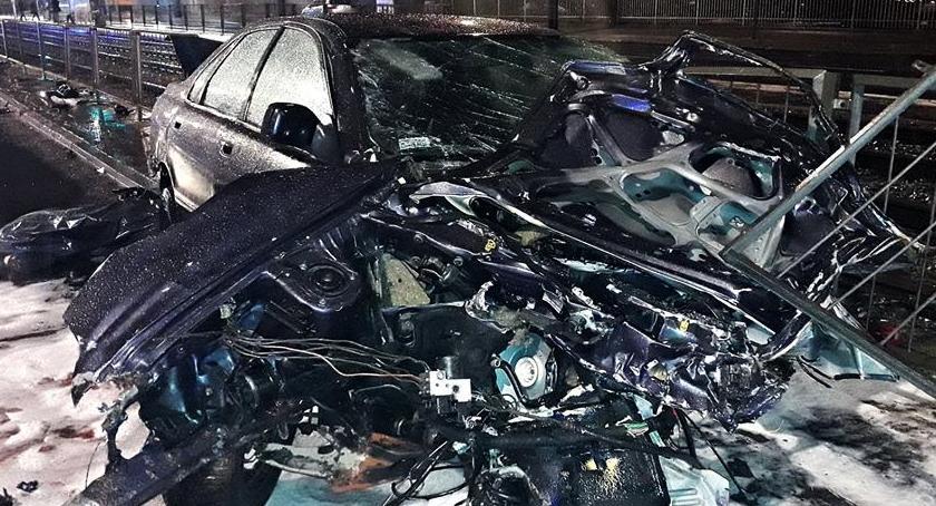 Wypadki, Tragiczny wypadek Grochowskiej [ZDJĘCIA] - zdjęcie, fotografia
