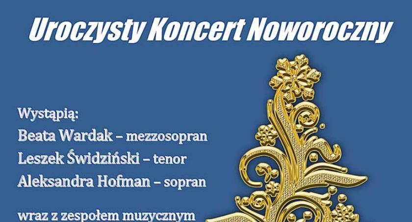 Zapowiedzi, Uroczysty Koncert Noworoczny stycznia - zdjęcie, fotografia