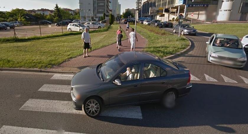 Wypadki, Kolejny wypadek przejściu przez Nowaka Jeziorańskiego - zdjęcie, fotografia