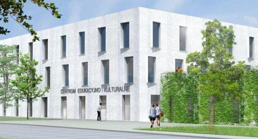 Inwestycje, Więcej kultury Gocławiu niedługo rusza budowa Centrum Edukacyjno Kulturalnego! - zdjęcie, fotografia