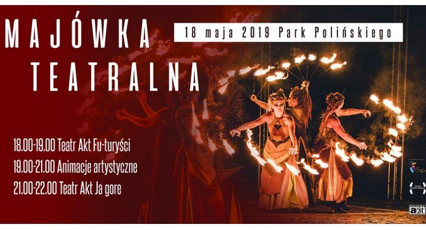 Teatr, Majówka Teatralna Parku Polińskiego - zdjęcie, fotografia